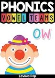 Digraph / Vowel Team OW: Phonics Word Work {Multiple Phonograms}
