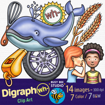 Digraph WH Clipart