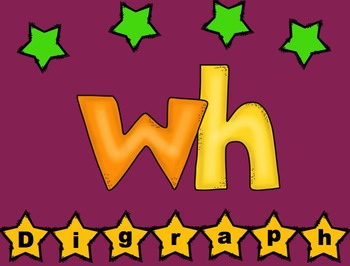 Digraph WH Flashcard Game