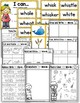 Digraph WH Practice and Worksheets