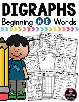 Digraph WR Practice and Worksheets