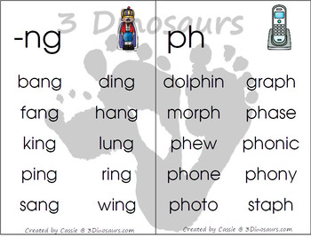 Digraph Wall Cards & Ladders