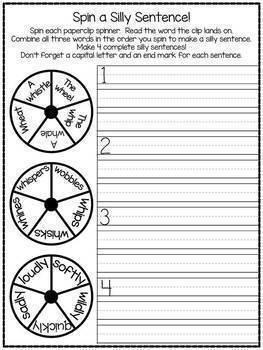 Digraph Wh No Prep Worksheets