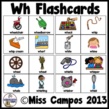 Wh Digraph Worksheets