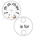 Digraph Wheel (th/sh/ch/qu)