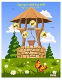 Digraph Wishing Well- consonant digraph ch, sh, th, wh sor