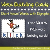 Word Building Cards [Digraphs]