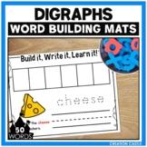 Digraphs Word Building Mats