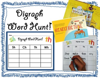 Digraph Word Hunt