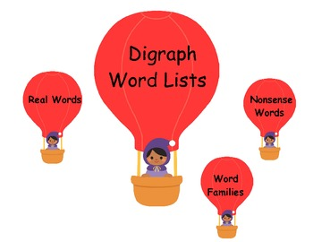 Digraph Word Lists