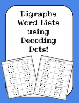 Digraph Word Lists for Decoding!