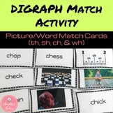Digraph Word/ Picture Match Activity