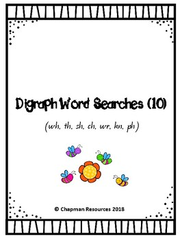 Digraph Word Searches (10)