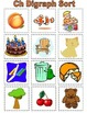 Digraph Word Sort Games (th,sh,ch,wh,ck)