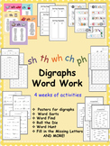 Digraph Word Study / Word Work