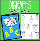Digraphs Word Work {Bundle} - Interactive Phonics Notebook