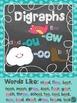 Digraph Word Work Activities (-oo, -ou, -ew)