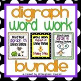 Digraph Word Work Literacy Station Bundle: ch, sh, th