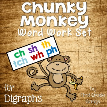 Digraph Word Work Set