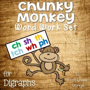 Digraph Word Work Set