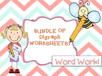 Digraphs Worksheets!
