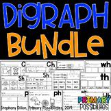 Digraph Worksheets Bundle Distance Learning