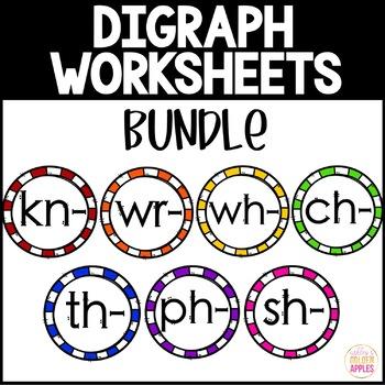Digraph Worksheets Bundle