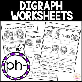 Digraph Worksheets Ph