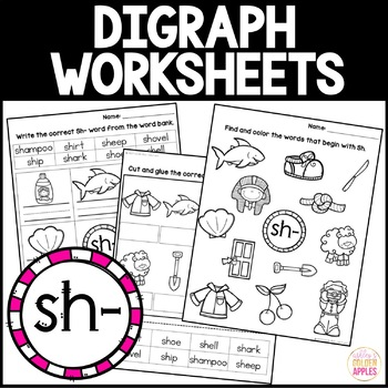 Digraph Worksheets Sh