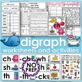 Digraph, Worksheets and Activities (NO PREP)