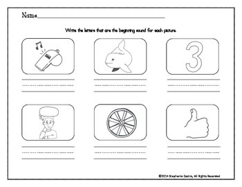 Digraph Worksheets: /wh/ /th/