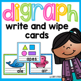 Digraph Write And Wipe Cards Ch Sh Th Wh