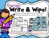 Digraph Write & Wipe--Beginning and Ending Digraph Center for K-2