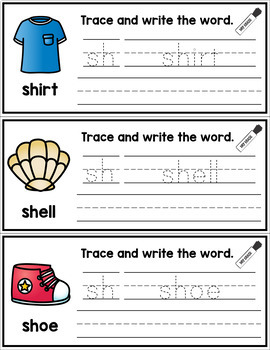 Digraph Write and Swipe Cards