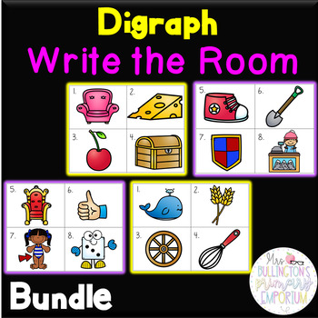 Digraph Write the Room Bundle (ch, sh, th, wh)!