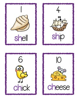 Digraph Write the Room (sh, ch, th, wh, ph)