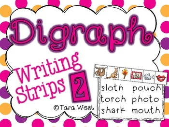 Digraph Writing Strips 2