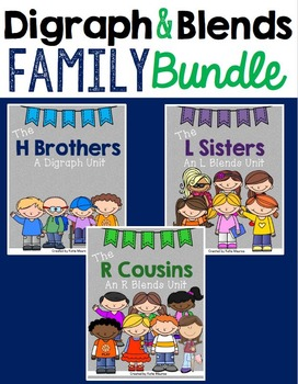 Digraph and Blends Family BUNDLE