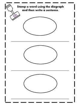 Digraph and Blends Stamp It Unit