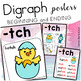 Digraph and Trigraph Posters { Watercolor }