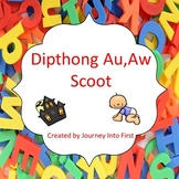 Digraph Au, Aw Scoot Game