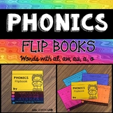 Journeys From Seed to Plant | Digraphs au, aw, al, and o | Phonics Flip Book |