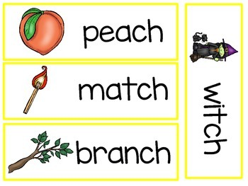 Digraph - ch - Writing Words