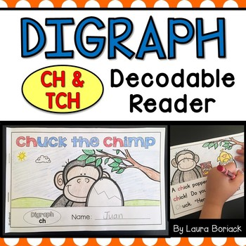 Digraph ch and tch Decodable Reader