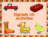 Digraph -ck Activities