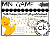 Digraph -ck fluency game
