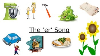 Digraph 'er' Song