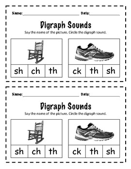 Digraph Exit Tickets
