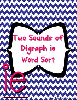 Digraph ie Word Sort