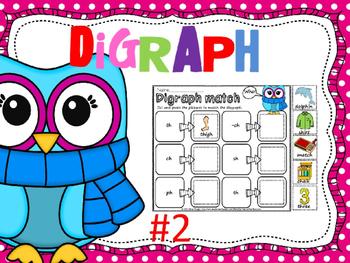 Digraph match (color)